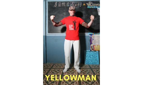 Big image yellow text tall