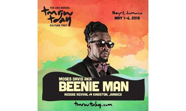 Big image beenie man tmrw tday festival