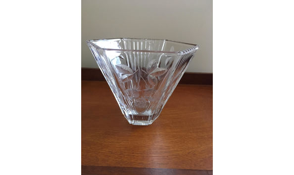 Mikasa Crystal Vase
