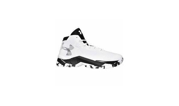 reputable site 935ec d9504 Stephen Curry Under Armour White and Black Size 7 Basketball Shoes