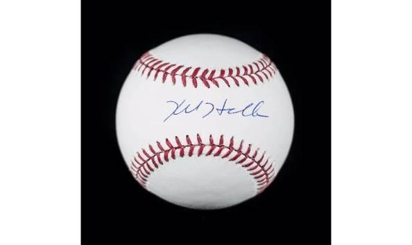 a8526b98100 Kyle Hendricks Signed Baseball