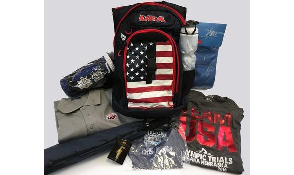 Big image usa swimming goodie bag