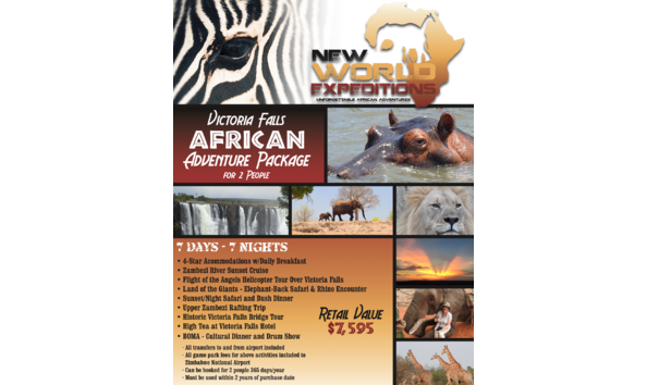 Unforgettable African Safari Trip to Victoria Falls, Zimbabwe