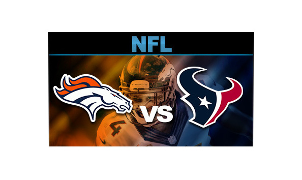 2 Tickets: Denver Broncos versus Houston Texans