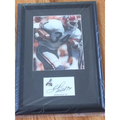 Image herschel walker framed  2