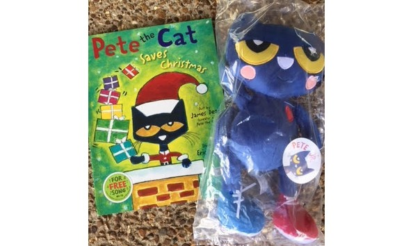 Pete The Cat Saves Christmas.Pete The Cat Saves Christmas Bundle