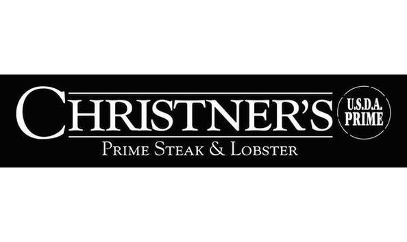 Christner's Prime Steak & Lobster - Gift Basket with $150 Gift Card, Bottle of Wine & Glasses