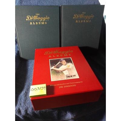 The Dimaggio Albums (2 Volumes) By: Joe DiMaggio