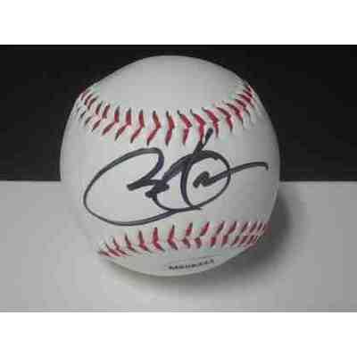 Barack Obama Autographed Baseball
