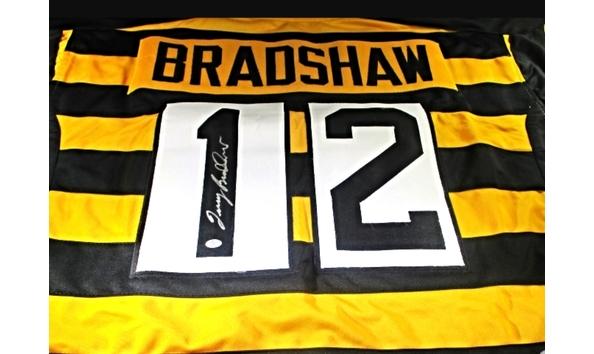 sale retailer 30d47 4cc4b Terry Bradshaw Autographed & Certified Jersey