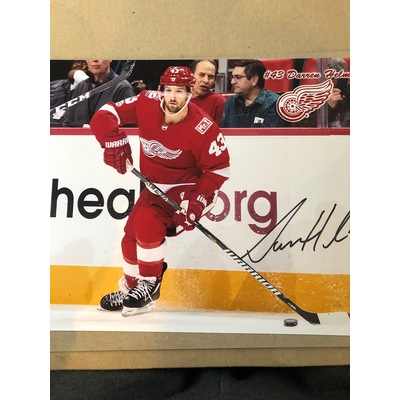 Autograph Photo of Detroit Red Wing Darren Helm #43