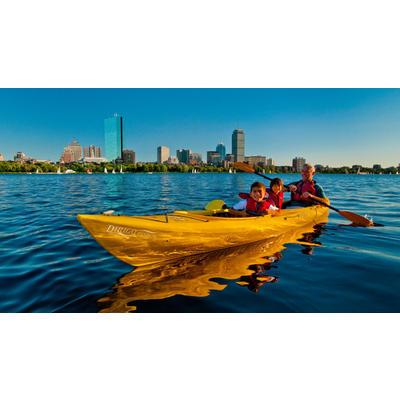 Day of paddling at Charles River Canoe & Kayak