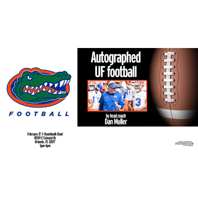 Image uf football auction