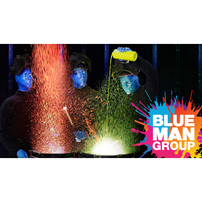 2 Tickets to Blue Man Group in Boston!