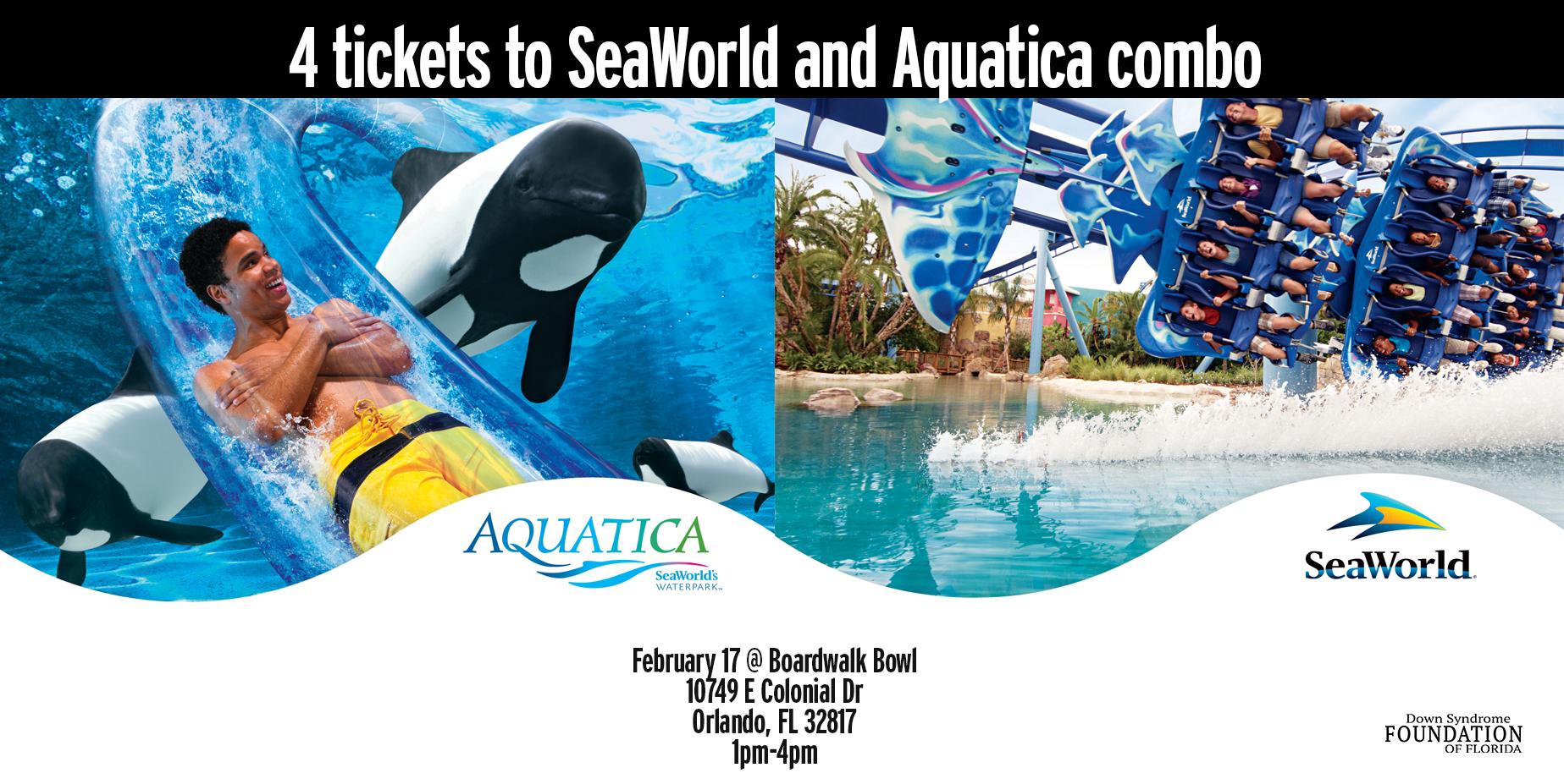 Seaworld and aquatica
