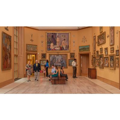 Image barnes museum inside