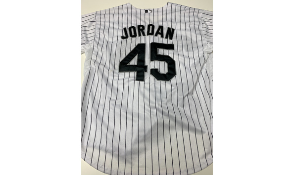 newest collection 43ef2 87704 Michael Jordan Game Worn Chicago White Sox Jersey