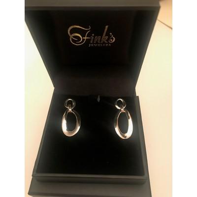 Fink's Jewelers Designer Earrings by Ippolita - Silver