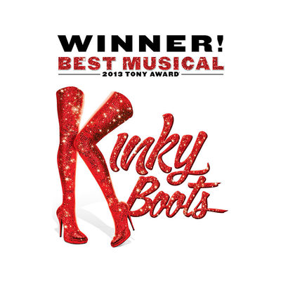 2 tickets to Kinky Boots on Tuesday, May 7th, 2019 at 7:00 pm