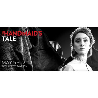 "Two tickets to Boston Lyric Opera's The Handmaids Tale and a hardcover copy of the book ""The Handmaids Tale"""