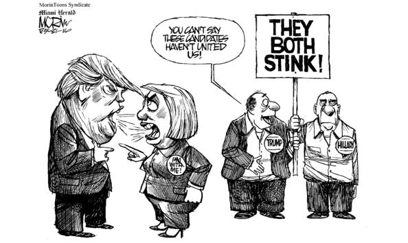 Big image jm053116 hillary trump stink unity