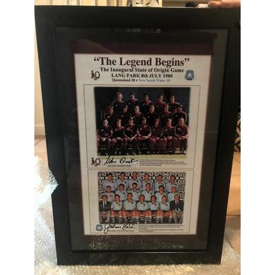 1980 State of Origin - The Legend Begins - The Original #1s
