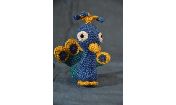 Paco the Peacock crochet pattern - printable PDF | Baby donkey ... | 354x594