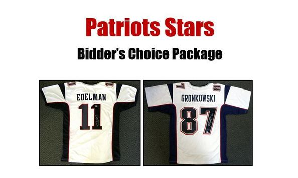 finest selection 53eb6 b71f0 Julian Edelman or Rob Gronkowski Signed Jersey