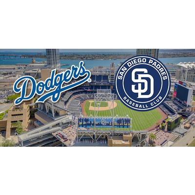 Dodgers v. San Diego Padres!  8/4   2 Field Tickets Behind Home Plate