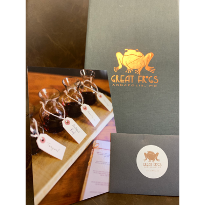 Great Frogs Winery $150 Gift Card