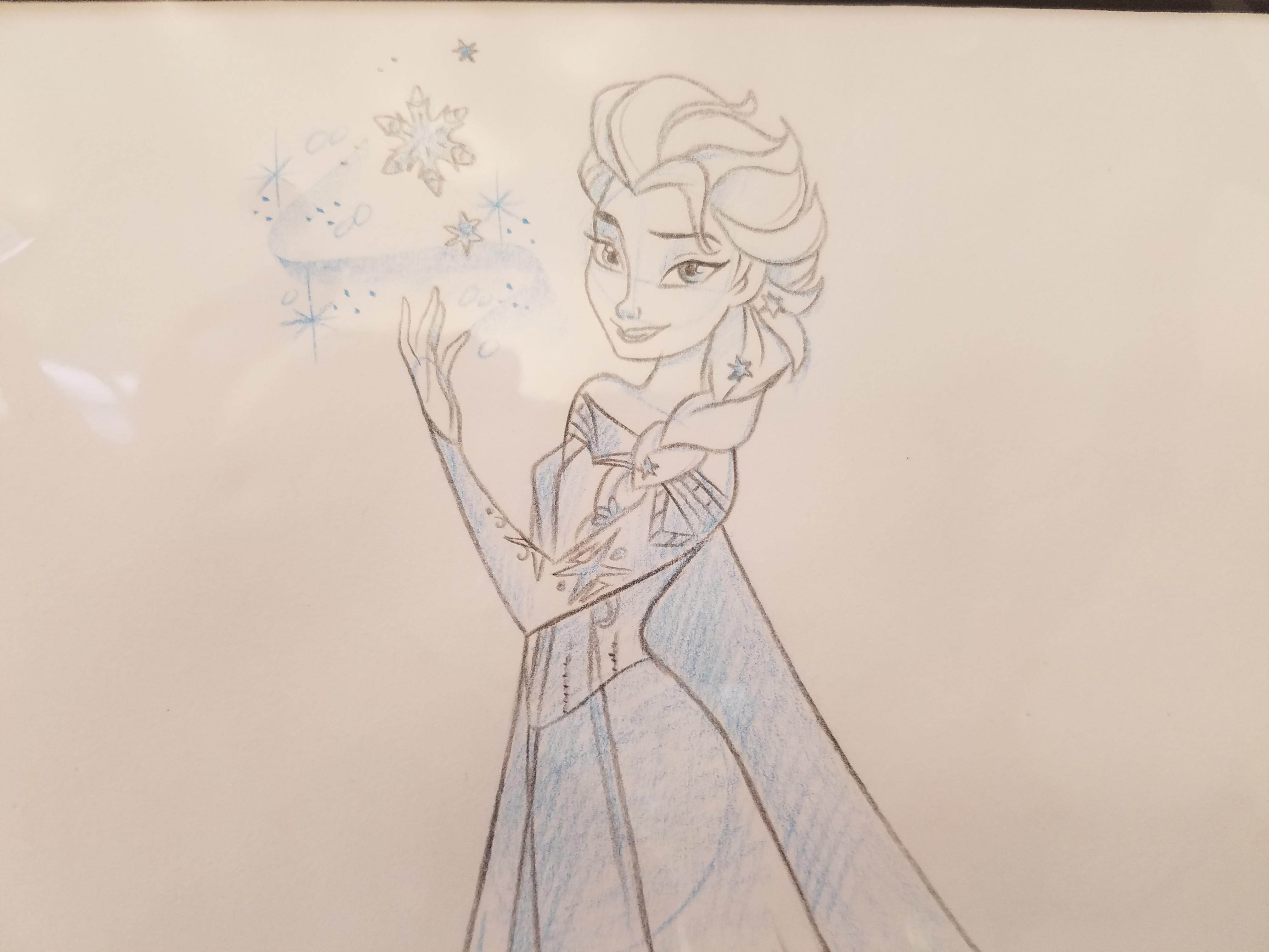 Anna Elsa Drawings
