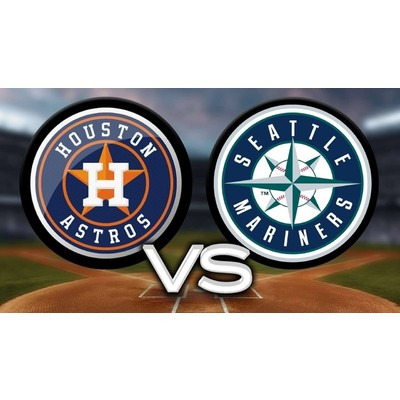 2 (100 level) Tickets to Houston Astros vs Seattle Mariners - Sunday, 9/8/19