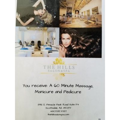 Pamper Me Spa Package from The Hills Spa