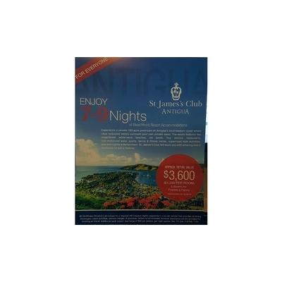 Premium Antigua Getaway