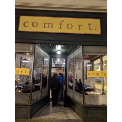 Comfort Restaurant $50 Gift Certificate