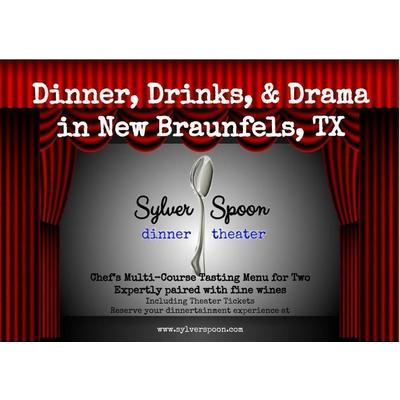 4 Course Wine Paired Dinner Theater for 4 In New Braunfels