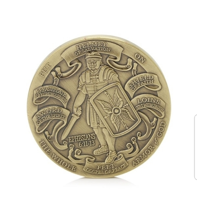 MARINE ARMOR OF GOD COLLECTORS COIN