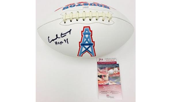 on sale 2751f b6f74 Earl Campbell Autographed Football