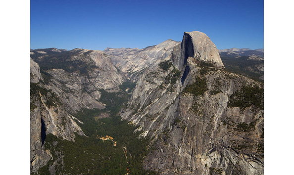 Big image yosemite valley and half dome from glacier point   yosemite national park