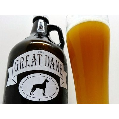 12 Great Dane Growler Fills with $100 Gift Card