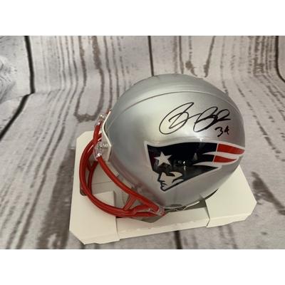 Rex Burkhead Mini New England Patriots Helmet