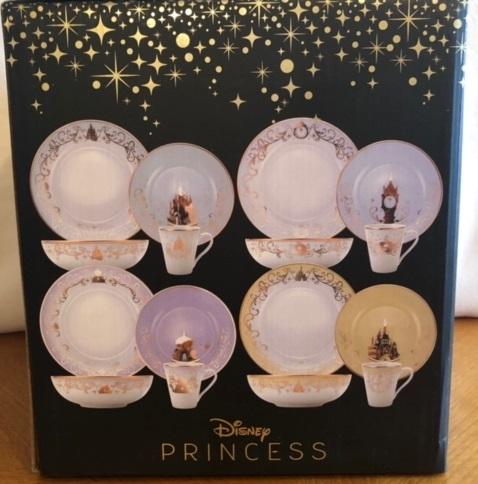 Disney princess place setting 01