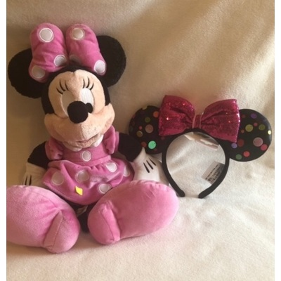 Image minnie plush and ears