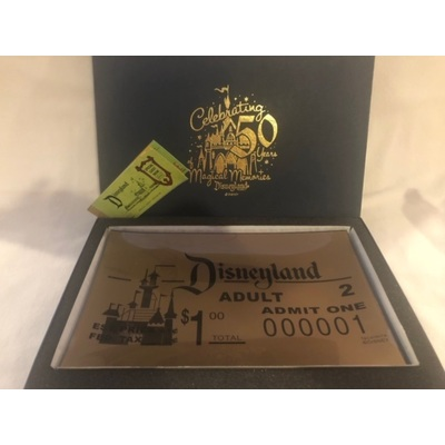 Image disneyland ticket replica book 01