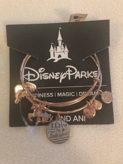 Alex and ani fantasyland bracelet