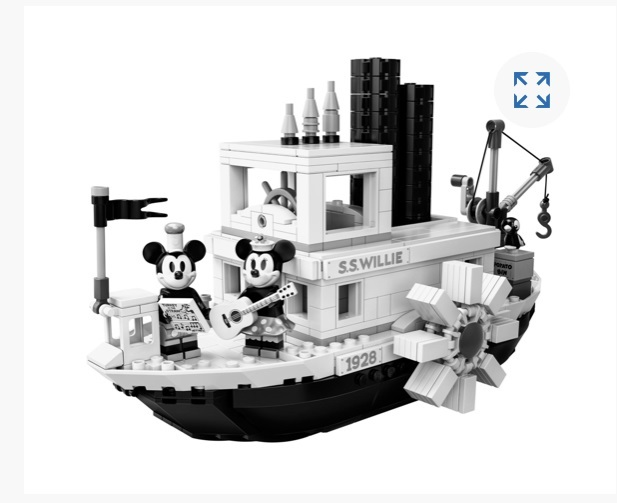 Steamboat willie lego set 01
