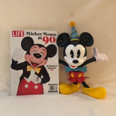 Mickey 90th sipper cup and magazine