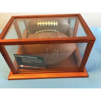 Autographed Aaron Rodgers Football