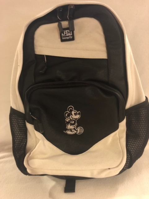 Mickey loungefly bw backpack