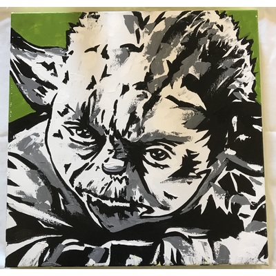 Image yoda canvas